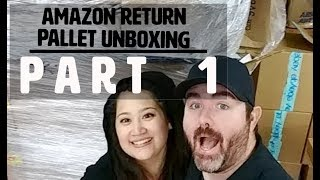 Live Amazon Customer Return Pallet Unboxing $3500+ Retail Value for $350