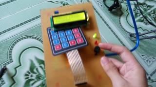 Mạch khóa số điện tử sử dụng Arduino UNO R3