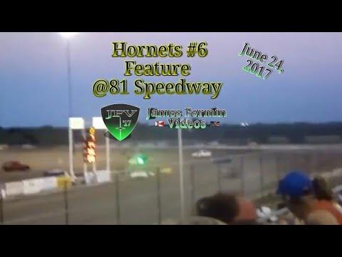 Hornets #6, Feature, 81 Speedway, 2017
