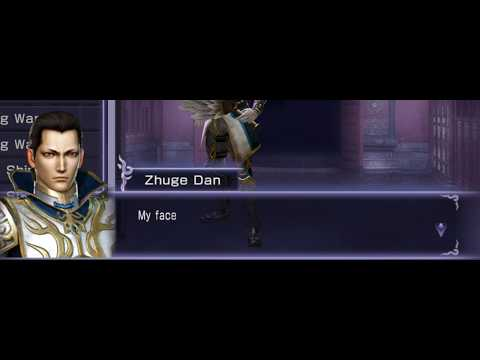 Warriors Orochi 3 Hyper - Camp Lines - Zhuge Dan