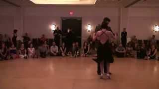 Chicago Tango Week 2014, Virginia & Jonny, performance 4/4