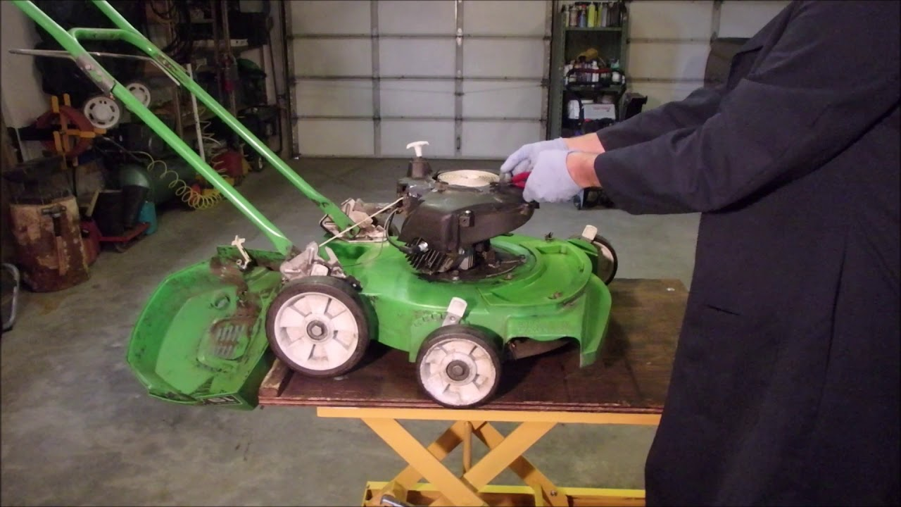 Lawn Boy Carb And Case Repair