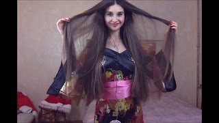Beautiful Sexy Asmr Girl Brushing Her Long Hair (no talk)