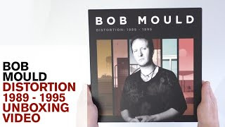 Bob Mould / Distortion 8LP vinyl and 24CD sets unboxed