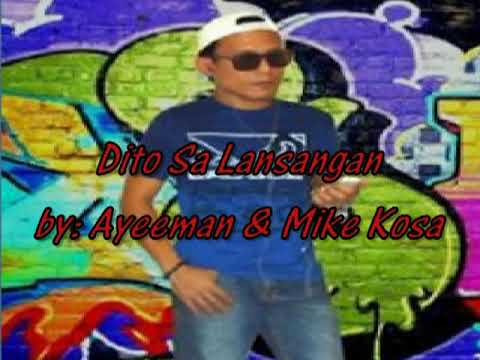 TAGALOG RAP REGGAE - Featuring:  Mike Kosa & Eyeeman