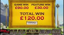 Amzaing £120 - Free Games Bonus - White King  Online Slots Review