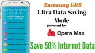 Hindi | Save & Earn Data via Samsung UDS | Powered by Opera Max | Sharmaji Technical