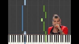 GIGANTE (SANREMO 2020)- PIERO PELÚ - EASY PIANO TUTORIAL - IL PIANO SUL TUBO