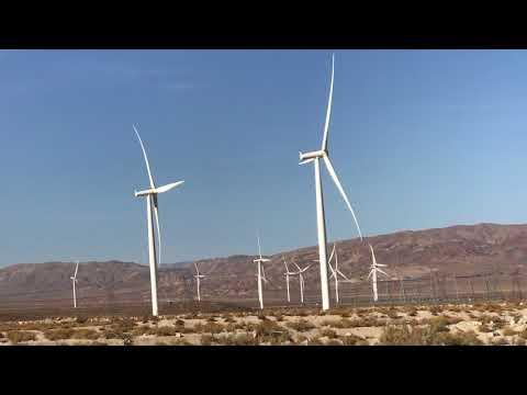 Wind Turbine's ~ Harnessing the Wind Power in California !