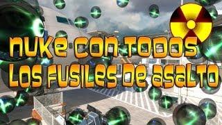Reto Superado - Nuke con todos los fusiles |Bomba Nuclear [XXIII] FAL|