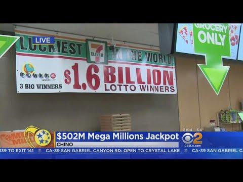 $502M Mega Millions Jackpot