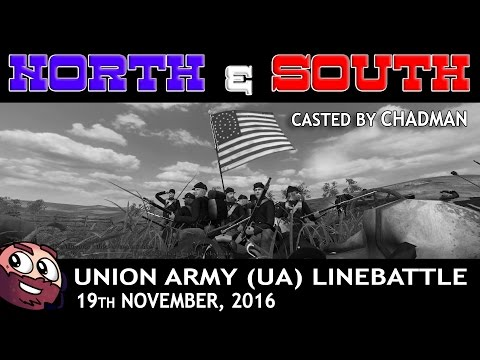 Mount & Blade -  Line Battle (North & South Mod) - Union Army Line Battle - 19-11-2016