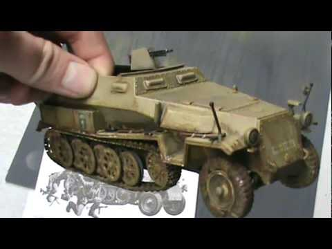 Hanomag Sd Kfz 251 1 35th Scale Youtube