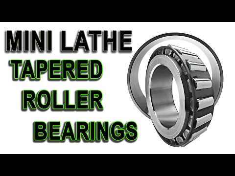 Mini Lathe taper bearings installation