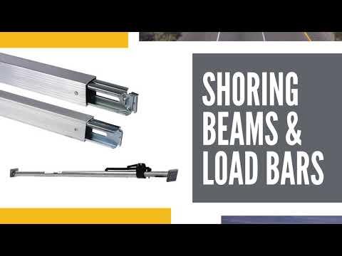 Load Bars, Cargo Bars, Load Locks, And Shoring Beams