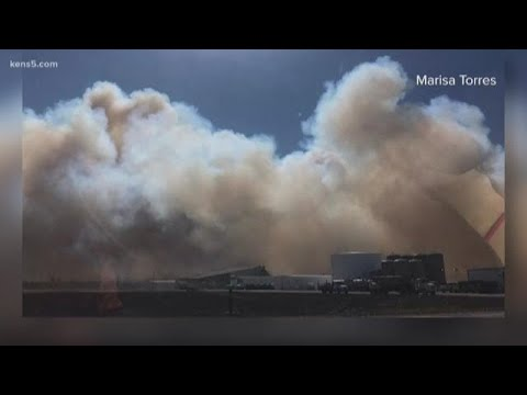 Cotton Gin Spark Leads To Massive Blaze In South Texas