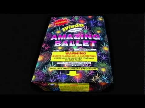 Amazing Ballet - Winda - 500g Multi-shot - Decker's Uncle Sam Fireworks
