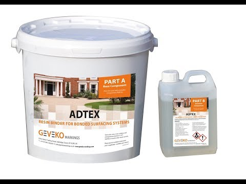 Adtex Resin Bonded Application