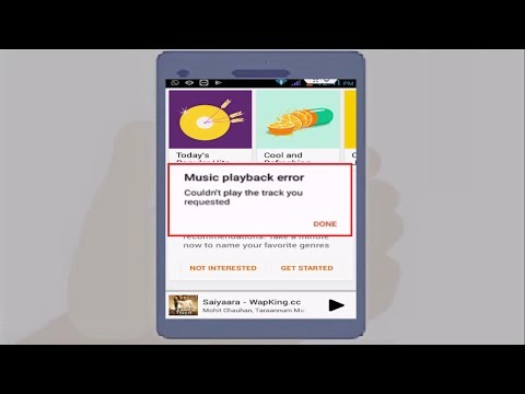 How to Fix Music Playback Error of Google Play Music in Android