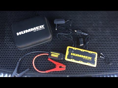 видео: Пуско-Зарядное устройство hummer h2 распаковка и тест