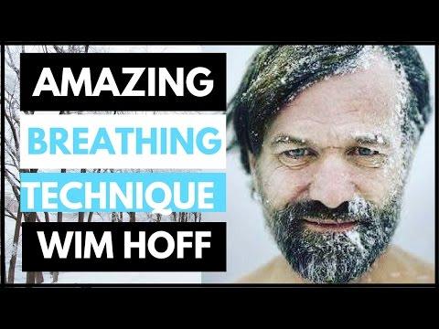 Wim Hof Reveals His Amazing Iceman Breathing Technique