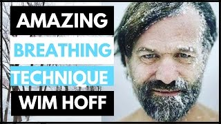 Wim Hof Reveals His Amazing Iceman Breathing Technique