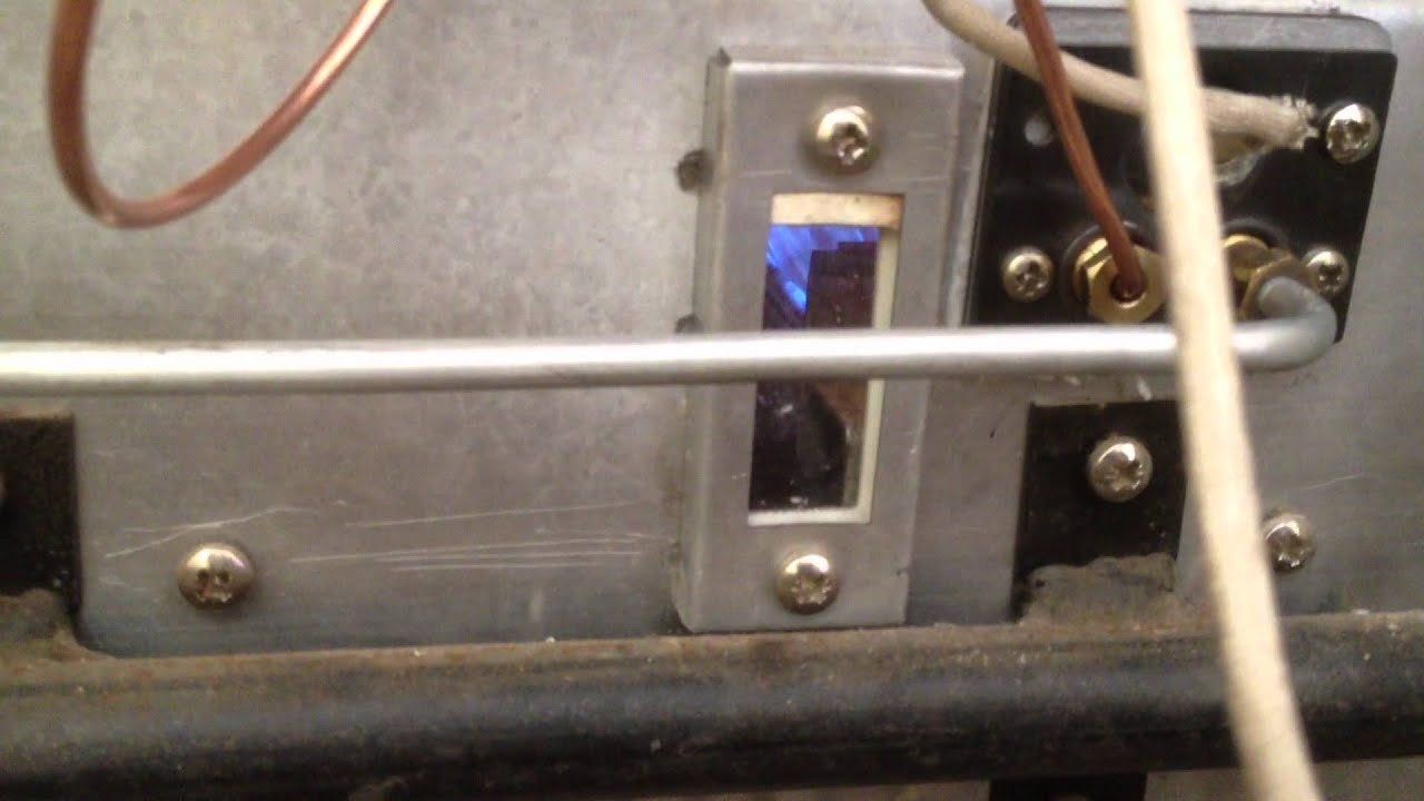 Potterton Kingfisher 2 New Thermocouple Fitted Youtube