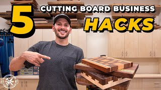 5 Ways to Make Money Selling Cutting Boards