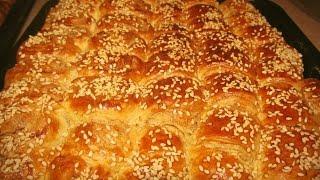Пексемет.Турецкая выпечка к завтраку.Peksemet Tarifi.