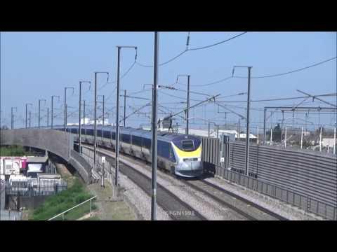 "(HD) Refurbished Eurostar ""E300s"" Class 373s at Rainham | 08 & 09/04/2017"