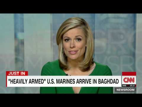 Armed Marines sent to U.S. embassy