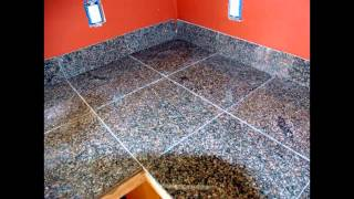 видео granite mosaic tile
