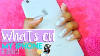 What's on my iPhone 6 Plus! + Phone case collection!