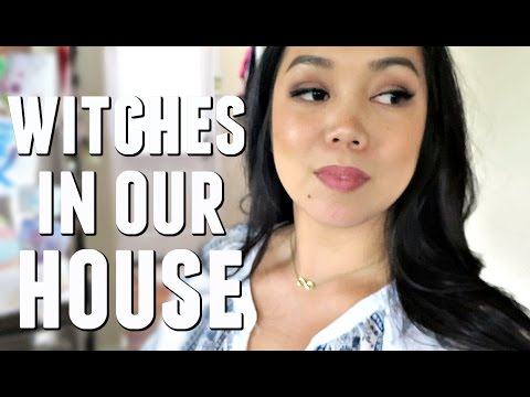 THERE ARE WITCHES IN OUR HOUSE - May 15, 2017 -  ItsJudysLife Vlogs