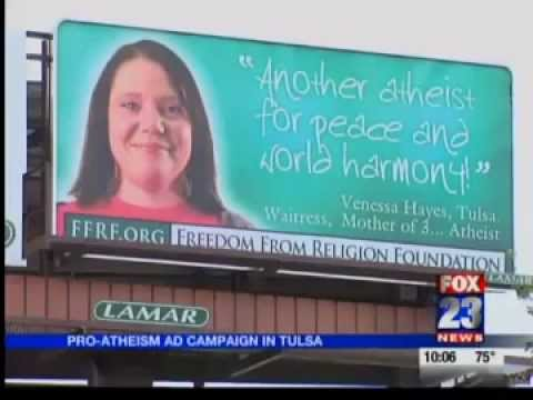 Atheist Billboards - Tulsa, OK - Freedom From Religion Foundation (FFRF) - Local news
