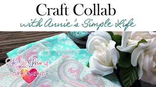 Spring Craft Collab With Annie's Simple Life: Diy Reversible Cloth Napkins/placemats