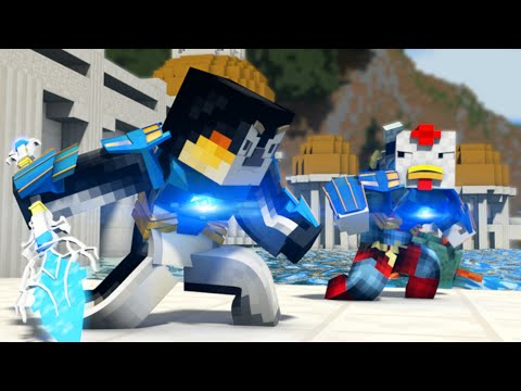"""Atlanteans"" - Minecraft Parody: Titanium (T-Shirt Speed Art)"
