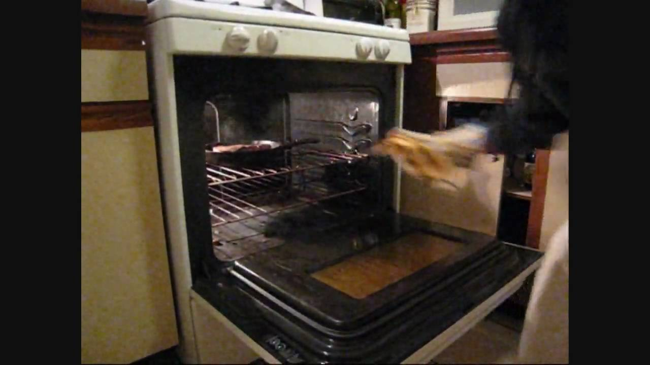 how to make new york strip steak in oven