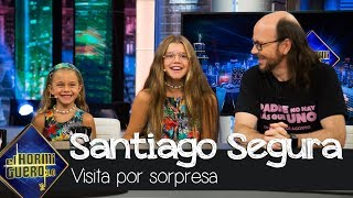 Las hijas de Santiago Segura visitan a su padre por sorpresa - El Hormiguero 3.0