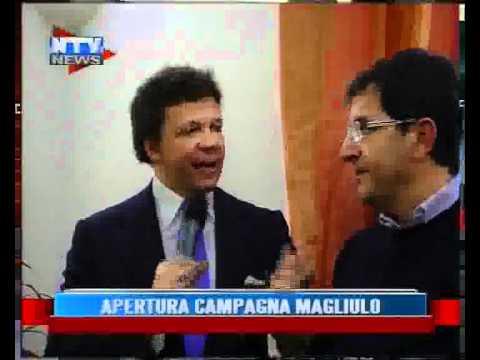 apertura campagna elettorale Antonino Magliulo