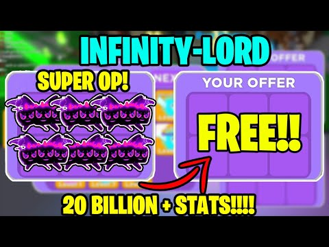 🔥I WAS GIVEN A TEAM OF 18 OF THE BEST *INFINITY-LORD* PETS! OVER *20 BILLION* STATS NINJA LEGENDS!🔥