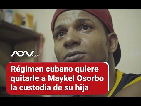 Régimen cubano quiere quitarle a Maykel Osorbo la custodia de su hija
