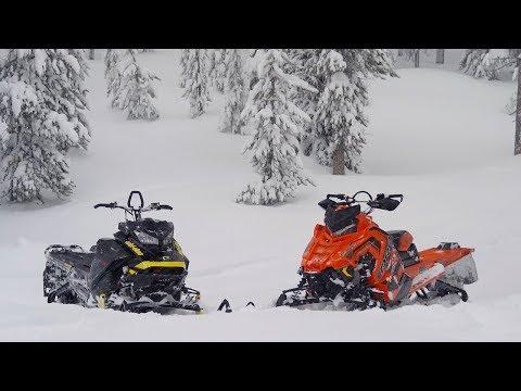 2018 Mountain Sled Shootout: Ski-Doo VS Polaris