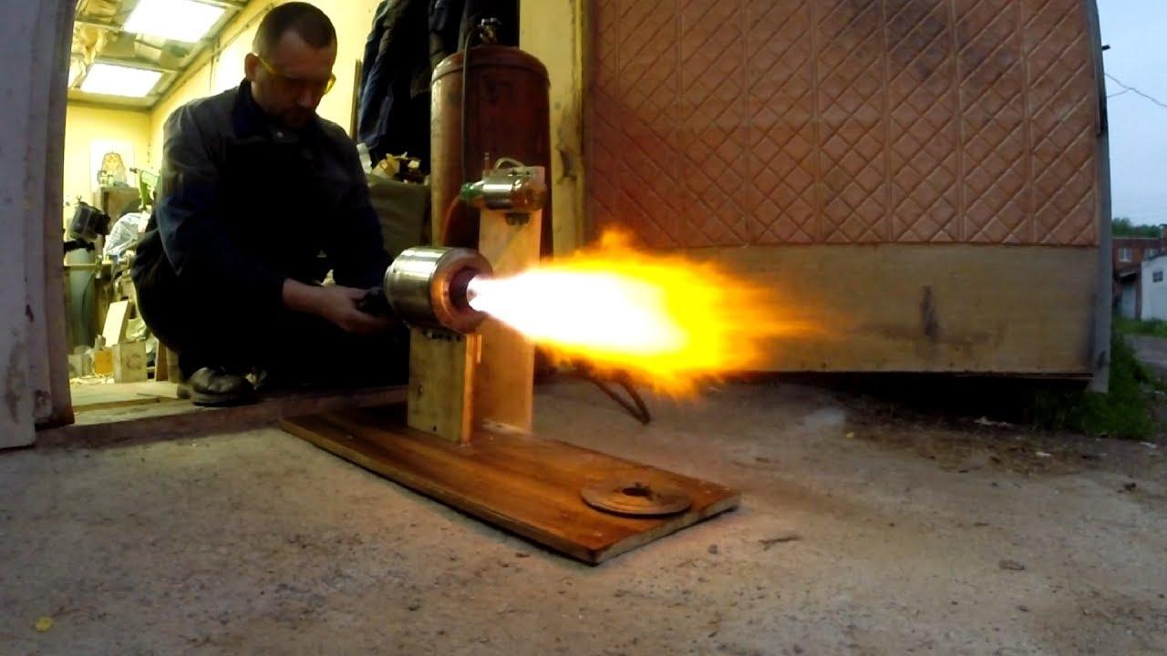 Самодельный ТРД — это было НЕВОЗМОЖНО но он заработал — Homemade jet engine launched