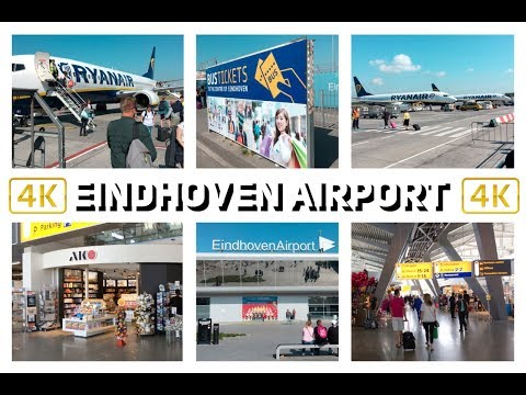 EINDHOVEN AIRPORT -  NETHERLANDS - 4K 2017 - TRAVEL GUIDE