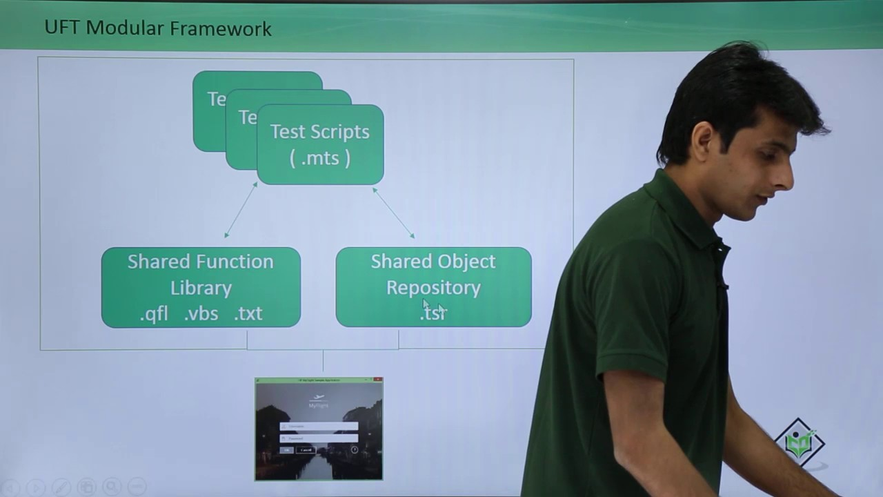 HP UFT/QTP - Modular Framework