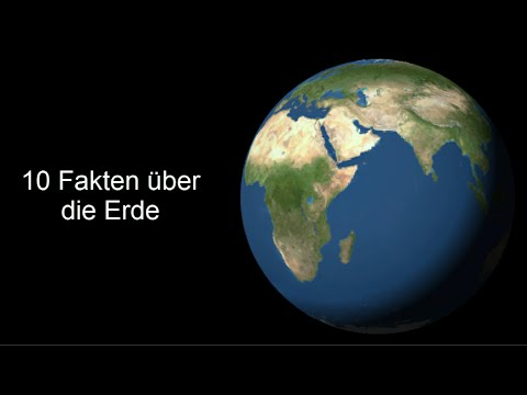 Fakten über Die Erde