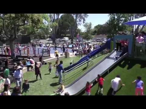 Magical Bridge Playground Grand Opening