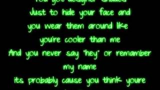 Repeat youtube video Mike Posner-Cooler than me lyrics