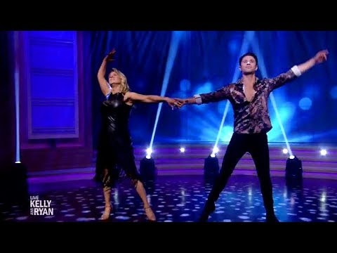 Tonya Harding & Sasha Farber - Perform The Viennese Waltz - Live Kelly & Ryan
